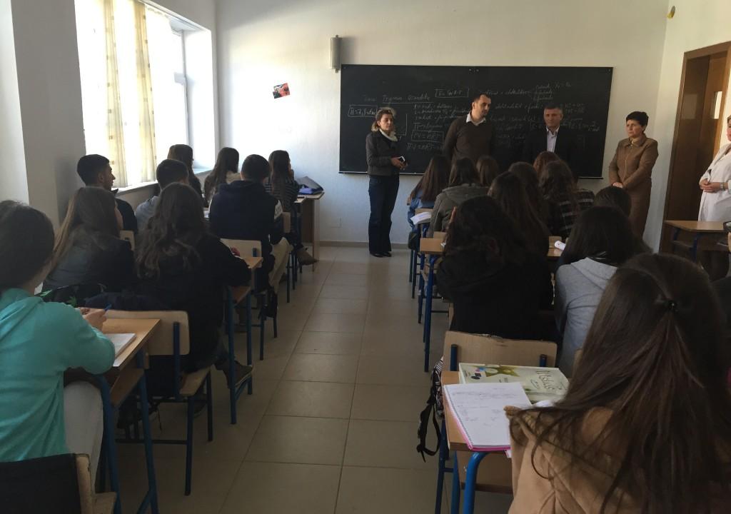 "Akademia Rinore u prezantua me nxenes te shkolles ""Said Najdeni"""