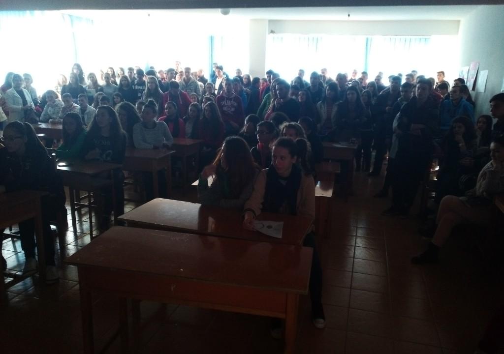 "Akademia Rinore u prezantua me nxenes te shkolles ""Raqi Qirinxhi"""