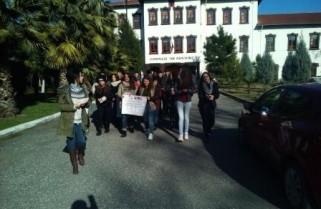 Fushate sensibilizimi e Akademise Rinore ne qytetin e Shkodres