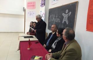 Aktivitet i organizuar nga Akademia Rinore ne qytetin e Peshkopise me nxenes, mesues, perfaqesues te qeverisjes vendore dhe OJF lokale